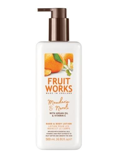 Fruit Works Mandarin & Neroli El Ve Vücut Losyonu 500 ml Renksiz